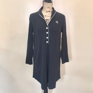 Ralph Lauren Fleece Pajama Night Gown Size S